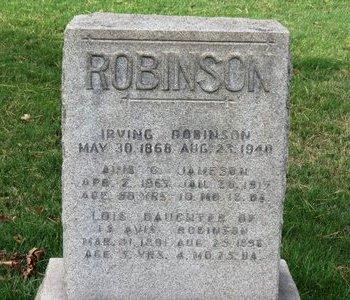 ROBINSON, AVIS - Lorain County, Ohio | AVIS ROBINSON - Ohio Gravestone Photos
