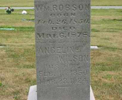 ROBSON, ANGELINE - Lorain County, Ohio | ANGELINE ROBSON - Ohio Gravestone Photos