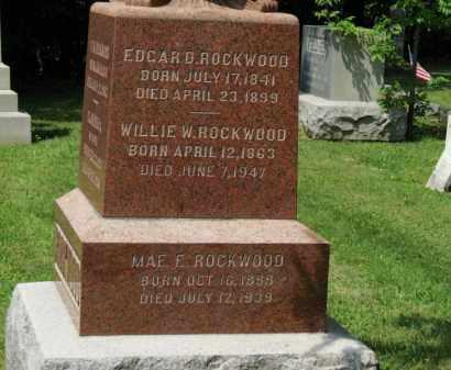 ROCKWOOD, WILLIE W. - Lorain County, Ohio   WILLIE W. ROCKWOOD - Ohio Gravestone Photos