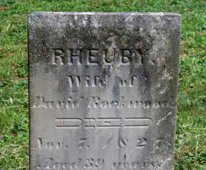 ROCKWOOD, RHEUBY - Lorain County, Ohio | RHEUBY ROCKWOOD - Ohio Gravestone Photos
