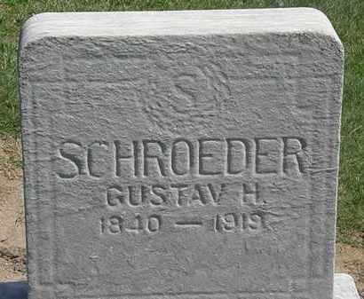 SCHRODER, GUSTAV H. - Lorain County, Ohio | GUSTAV H. SCHRODER - Ohio Gravestone Photos