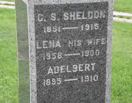 SHELDON, LENA - Lorain County, Ohio   LENA SHELDON - Ohio Gravestone Photos
