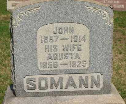 SOMANN, JOHN - Lorain County, Ohio | JOHN SOMANN - Ohio Gravestone Photos