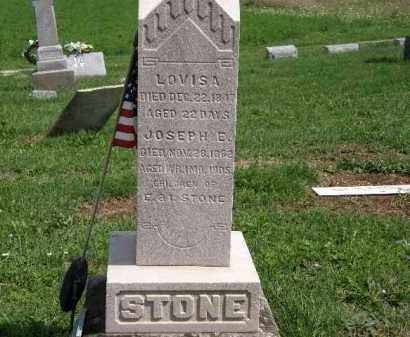 STONE, JOSEPH E. - Lorain County, Ohio | JOSEPH E. STONE - Ohio Gravestone Photos
