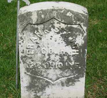 STOUGH, FRANK - Lorain County, Ohio | FRANK STOUGH - Ohio Gravestone Photos