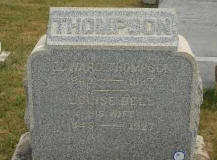 THOMPSON, EDWARD - Lorain County, Ohio | EDWARD THOMPSON - Ohio Gravestone Photos