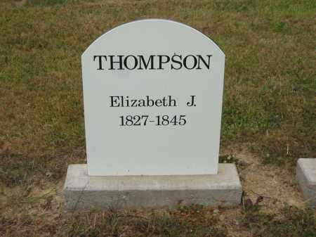 THOMPSON, ELIZABETH J. - Lorain County, Ohio | ELIZABETH J. THOMPSON - Ohio Gravestone Photos