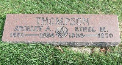 THOMPSON, ETHEL M. - Lorain County, Ohio | ETHEL M. THOMPSON - Ohio Gravestone Photos