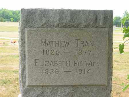TRAN, MATHEW - Lorain County, Ohio   MATHEW TRAN - Ohio Gravestone Photos