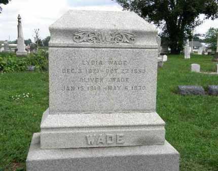 WADE, LYDIA - Lorain County, Ohio   LYDIA WADE - Ohio Gravestone Photos