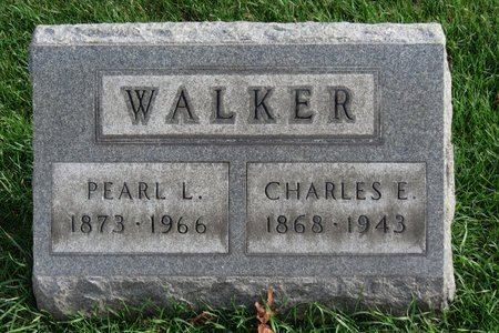 WALKER, CHARLES E. - Lorain County, Ohio   CHARLES E. WALKER - Ohio Gravestone Photos