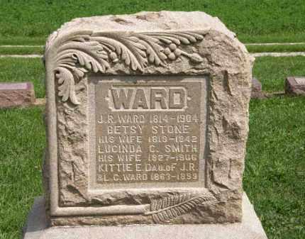 WARD, KITTIE E. - Lorain County, Ohio | KITTIE E. WARD - Ohio Gravestone Photos