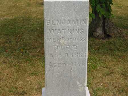 WATKINS, BENJAMIN - Lorain County, Ohio   BENJAMIN WATKINS - Ohio Gravestone Photos
