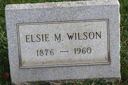 WILSON, ELSIE M. - Lorain County, Ohio | ELSIE M. WILSON - Ohio Gravestone Photos