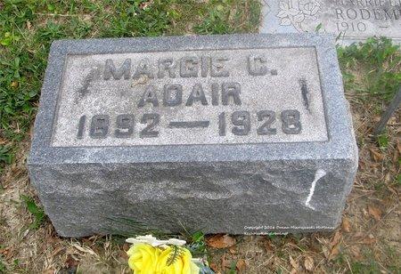 ADAIR, MARGIE C. - Lucas County, Ohio | MARGIE C. ADAIR - Ohio Gravestone Photos