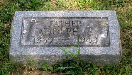 ALBRECHT, ADOLPH J. - Lucas County, Ohio | ADOLPH J. ALBRECHT - Ohio Gravestone Photos