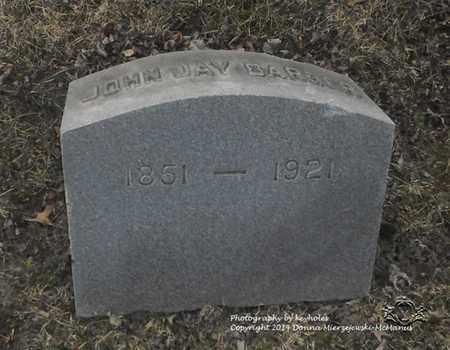 BARBER, JOHN JAY - Lucas County, Ohio | JOHN JAY BARBER - Ohio Gravestone Photos