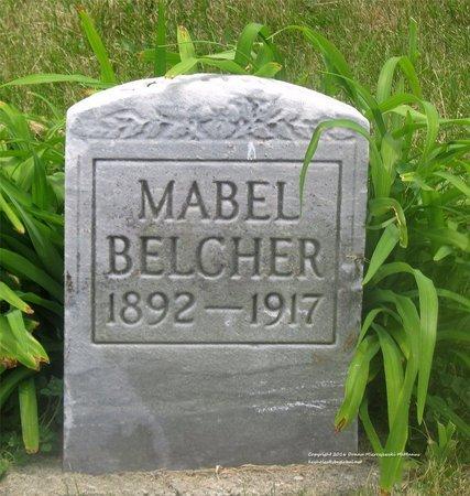 BELCHER, MABEL - Lucas County, Ohio | MABEL BELCHER - Ohio Gravestone Photos
