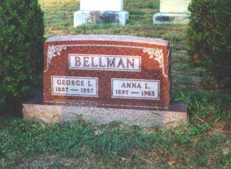 BELLMAN, GEORGE LEONARD - Lucas County, Ohio | GEORGE LEONARD BELLMAN - Ohio Gravestone Photos
