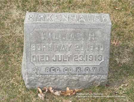 BIRKENHAUER, WILLIAM H. - Lucas County, Ohio | WILLIAM H. BIRKENHAUER - Ohio Gravestone Photos
