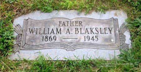BLAKSLEY, WILLIAM A. - Lucas County, Ohio | WILLIAM A. BLAKSLEY - Ohio Gravestone Photos
