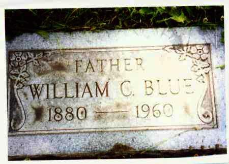 BLUE, WILLIAM - Lucas County, Ohio | WILLIAM BLUE - Ohio Gravestone Photos