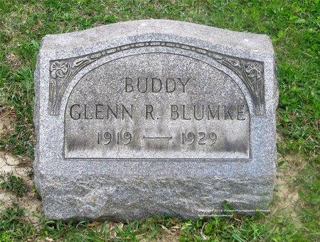 BLUMKE, GLENN R. - Lucas County, Ohio   GLENN R. BLUMKE - Ohio Gravestone Photos