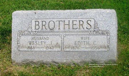 BROTHERS, EDITH C. - Lucas County, Ohio | EDITH C. BROTHERS - Ohio Gravestone Photos