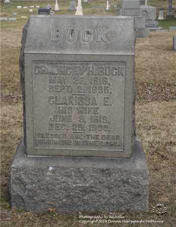 BUCK, CHAUNCEY H. - Lucas County, Ohio | CHAUNCEY H. BUCK - Ohio Gravestone Photos