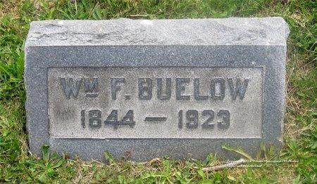 BUELOW, WILLIAM F. - Lucas County, Ohio   WILLIAM F. BUELOW - Ohio Gravestone Photos