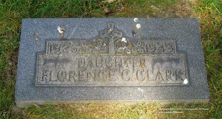 CLARK, FLORENCE C. - Lucas County, Ohio   FLORENCE C. CLARK - Ohio Gravestone Photos