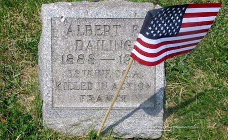 DAILING, ALBERT F. - Lucas County, Ohio | ALBERT F. DAILING - Ohio Gravestone Photos