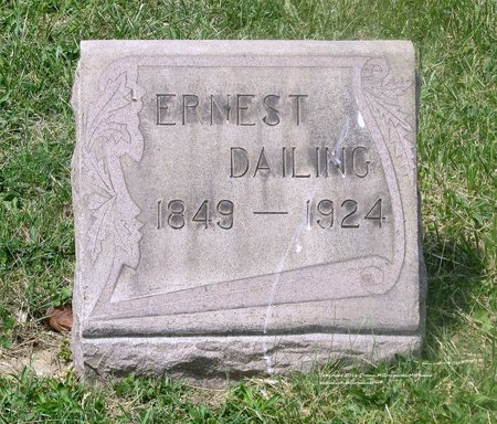 DAILING, ERNEST - Lucas County, Ohio | ERNEST DAILING - Ohio Gravestone Photos
