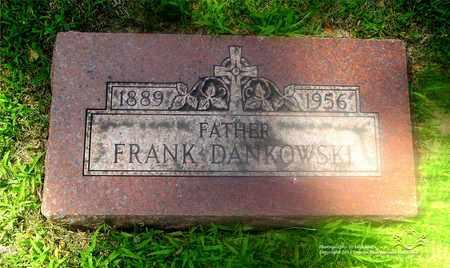 DANKOWSKI, FRANK - Lucas County, Ohio   FRANK DANKOWSKI - Ohio Gravestone Photos