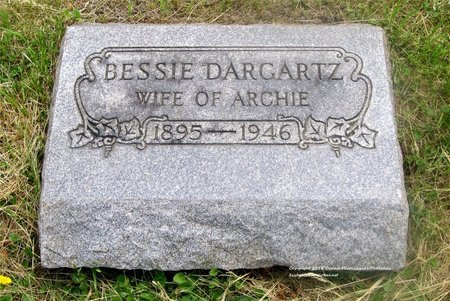 SMITH DARGARTZ, BESSIE - Lucas County, Ohio | BESSIE SMITH DARGARTZ - Ohio Gravestone Photos