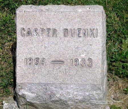 DUENKI, CASPER - Lucas County, Ohio | CASPER DUENKI - Ohio Gravestone Photos
