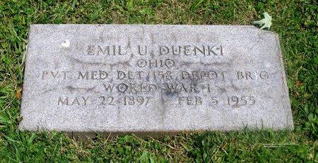 DUENKI, EMIL U. - Lucas County, Ohio | EMIL U. DUENKI - Ohio Gravestone Photos