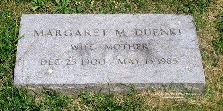 DUENKI, MARGARET M. - Lucas County, Ohio | MARGARET M. DUENKI - Ohio Gravestone Photos