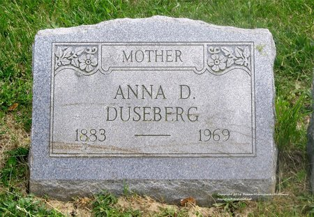 DUSEBERG, ANNA D. - Lucas County, Ohio | ANNA D. DUSEBERG - Ohio Gravestone Photos