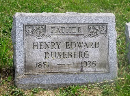 DUSEBERG, HENRY EDWARD - Lucas County, Ohio | HENRY EDWARD DUSEBERG - Ohio Gravestone Photos