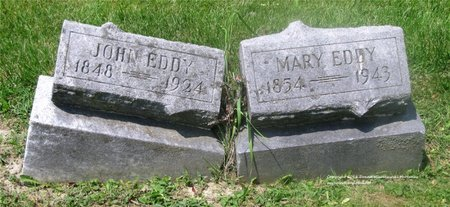 EDDY, JOHN - Lucas County, Ohio | JOHN EDDY - Ohio Gravestone Photos