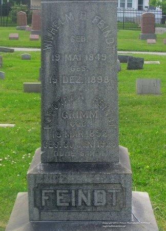 FEINDT, DOROTHEA - Lucas County, Ohio | DOROTHEA FEINDT - Ohio Gravestone Photos