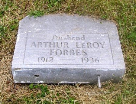 FORBES, ARTHUR LEROY - Lucas County, Ohio | ARTHUR LEROY FORBES - Ohio Gravestone Photos