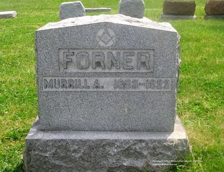FORNER, MURRILL A. - Lucas County, Ohio | MURRILL A. FORNER - Ohio Gravestone Photos