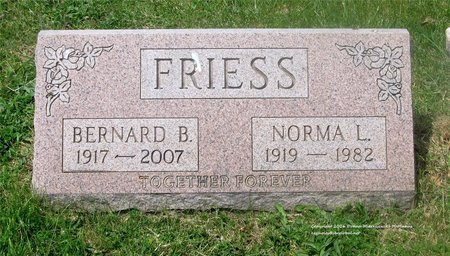 MOTTET FRIESS, NORMA L. - Lucas County, Ohio | NORMA L. MOTTET FRIESS - Ohio Gravestone Photos
