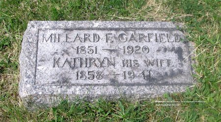 GARFIELD, MILLARD F. - Lucas County, Ohio | MILLARD F. GARFIELD - Ohio Gravestone Photos
