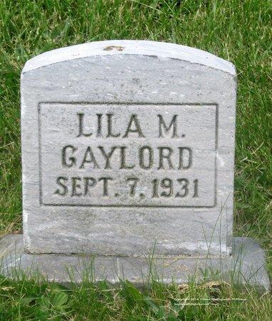 GAYLORD, LILA M. - Lucas County, Ohio | LILA M. GAYLORD - Ohio Gravestone Photos