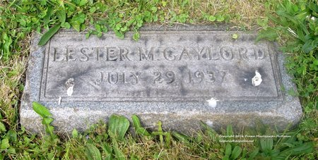 GAYLORD, LESTER - Lucas County, Ohio | LESTER GAYLORD - Ohio Gravestone Photos