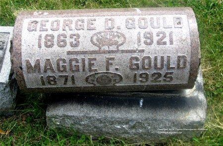 GOULD, GEORGE D. - Lucas County, Ohio | GEORGE D. GOULD - Ohio Gravestone Photos