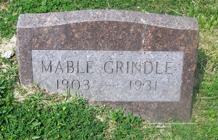 GRINDLE, MABLE - Lucas County, Ohio | MABLE GRINDLE - Ohio Gravestone Photos